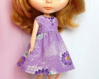 SALE! Blythe violet Flower dress
