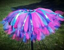 Colorful Pettiskirt Tutu Skirt for toddlers, babies, girls