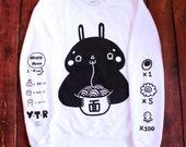 Ramen bunny sweatshirt Size L