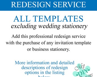 Template Redesign Service