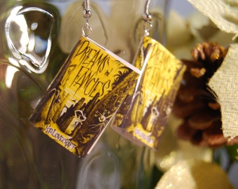 Dreams and Fancies Book Earrings