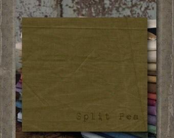 Fabric 1 YARD: Aged Muslin Cloth (New) - SPLIT PEA 116 Marcus Fabrics