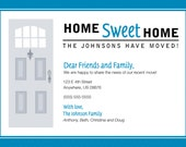 We're Moving - Home Sweet Home Card, printable file
