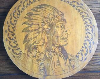Vintage Adirondack Indian Chief