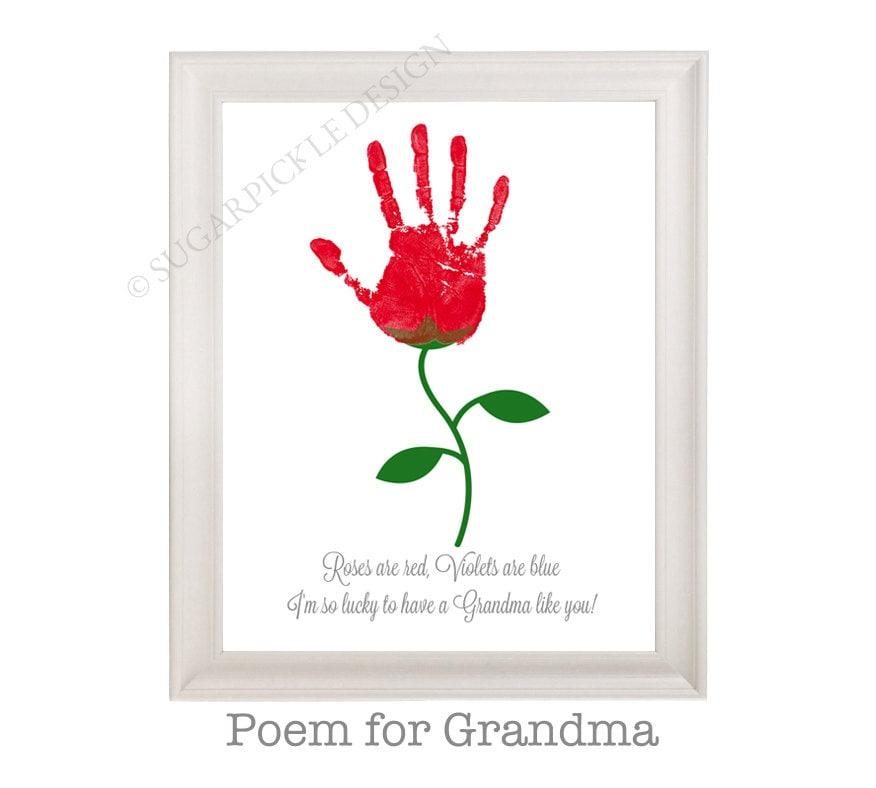 Gift For Grandma Grandma's Birthday Gift Personalized