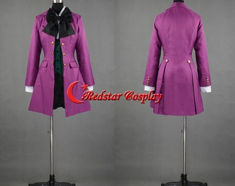 Black Butler II 2 Alois Trancy Cosplay Costume - Custom made in Any size
