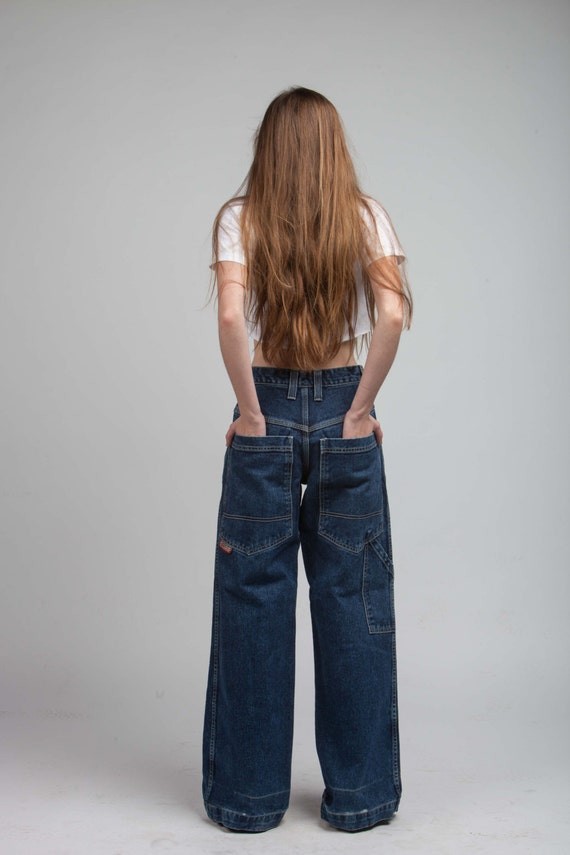 items similar to vintage jnco jeans 90s grunge revival