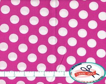 pink polka dot quilt etsy. Black Bedroom Furniture Sets. Home Design Ideas