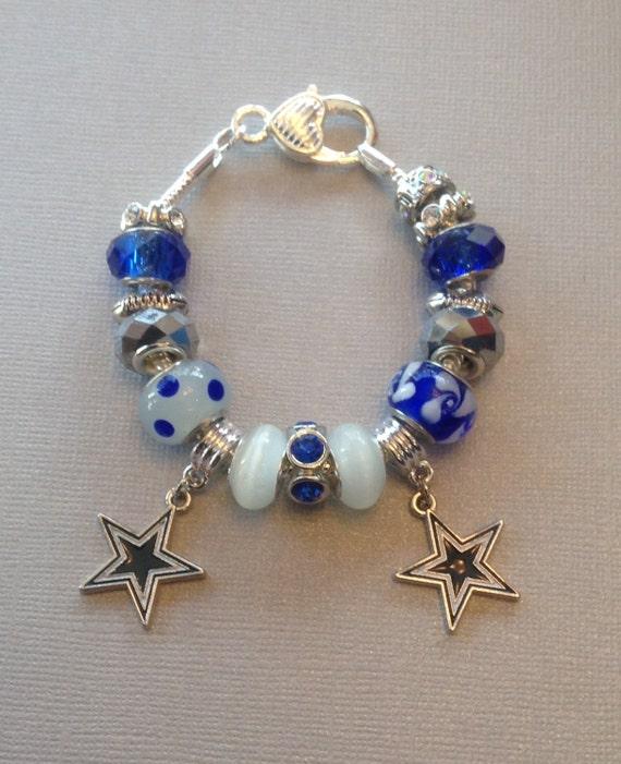 sale dallas cowboys charm bracelet