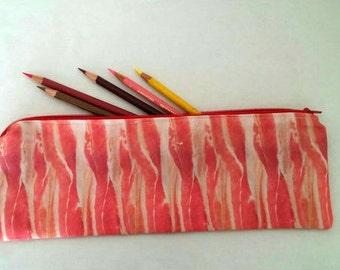 Bacon Zipper Pouch
