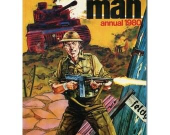 Action Man Vintage Boys Childrens Annual 1980