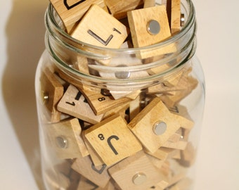 Pick Your Own Magnets, Personalized Magnet Set, Scrabble Magnet, Wedding, Magnet Favors, Reception Game, Wedding Magnet, Magnet Game, Party