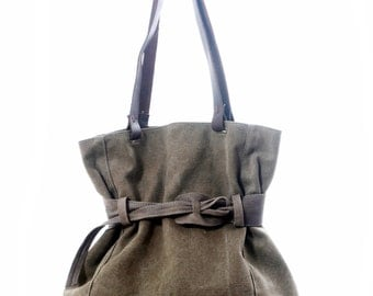 Unique Canvas Tote, Large Canvas Bag, Zipper Tote Bag, Shoulder Bag, Hobo Bag, Casual Bags, Gift Idea for Her, Sturdy Tote, Accessories