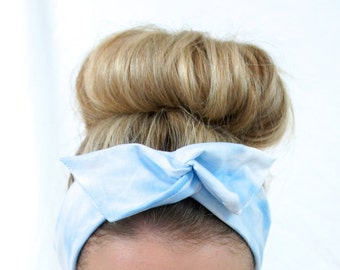 Cloud Tie Up Dolly Bow Headband