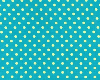 Michael Miller Fabric Dumb Dot in Lagoon