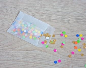 Glassine Bags 3,14 x 2,36 inch - Wedding Favor - Favor Bags - Party DIY Set of 20 - 100