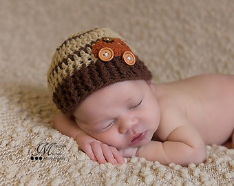Baby boy hat, Newborn Boy Hat, Boy hat car, Crochet car beanie, Baby car hat, Car applique hat, Newborn car beanie, Stripes hat, Baby gift