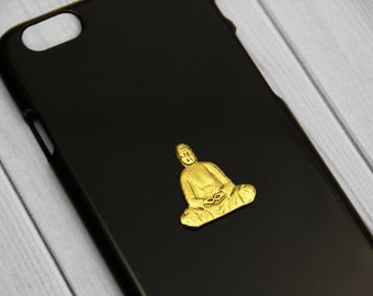 Buddha iPhone 6 Case Buddah iPhone 5s Cover iPhone 5c  S5 Case  S6 Spiritual Psychedeic Gold Cell Phone Case Gift Idea