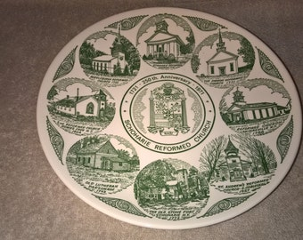 Vintage Kettlesprings Kilns Commemorative Plate - Schoharie, NY
