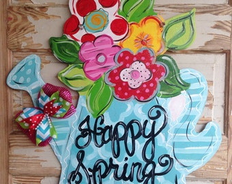 Spring Door Hanger - Summer Door Hanger - Spring Decor - Spring Door Decor - Summer Door Decor - Summer Decor