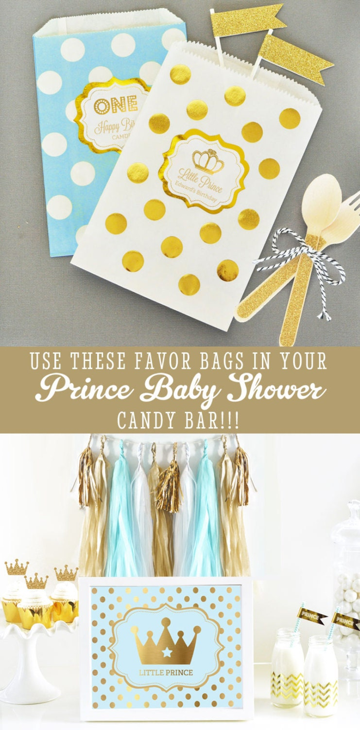 prince baby shower favors little prince baby shower by modparty