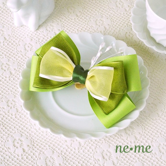 Princess Tiana Hair: Princess Tiana Inspired Hair Bow Tiana Felt Hair Clip