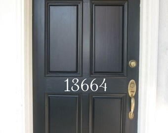 Vinyl House Number Decal, Front Door Address, vinyl door numbers, Front Door Numbers, Front Door Decor, House Address Numbers