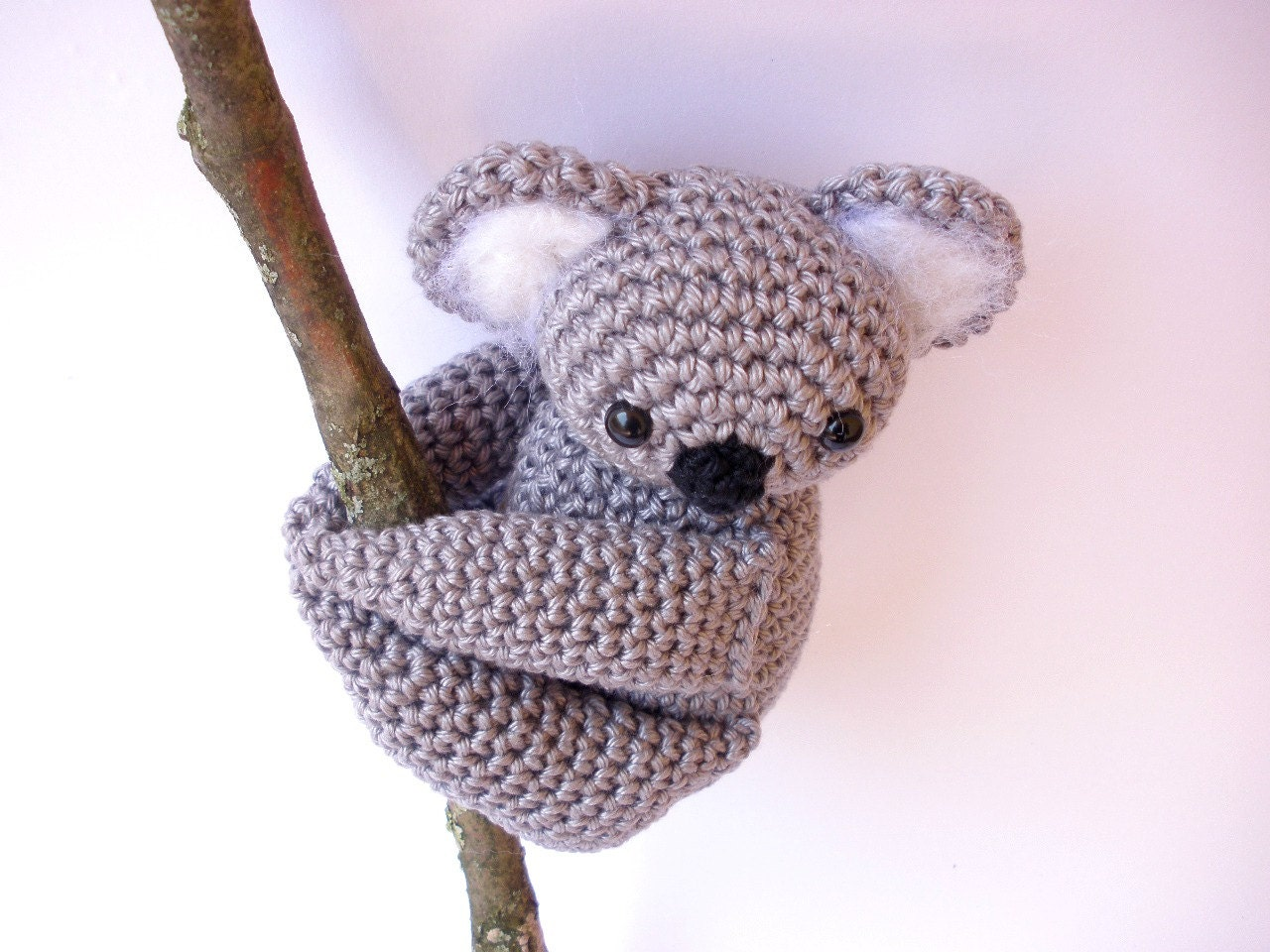 Koala Amigurumi Nose : Chandeliers & Pendant Lights