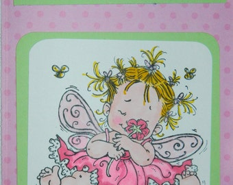 "Baby Fairy ""Smile"" Just Because Card"