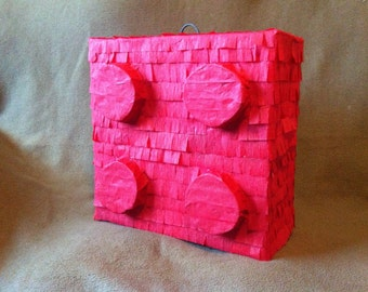 building block pinata