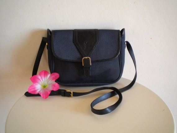 Yves Saint Laurent borsa tracolla vintage anni di LaPulceVintage