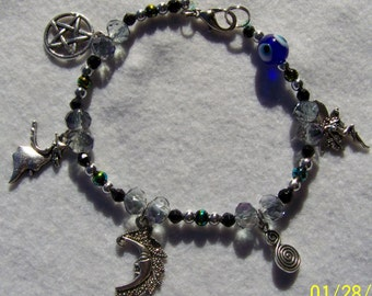 Witchy Protection Charm Bracelet