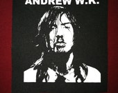 Andrew W.K. Cloth Punk Patch