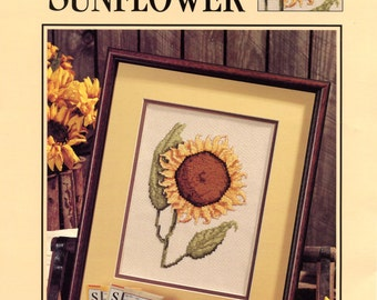 Sunny Sunflower from Leisure Arts design 83056