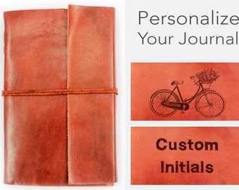 Antique Journal Personalized Leather Journal Diary Large Leather Notebook -  Antique Diary - Handmade Journal Writing Journal - Leather book