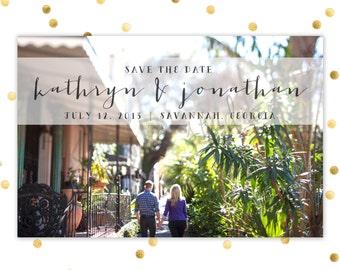 Save the Date [Printable]
