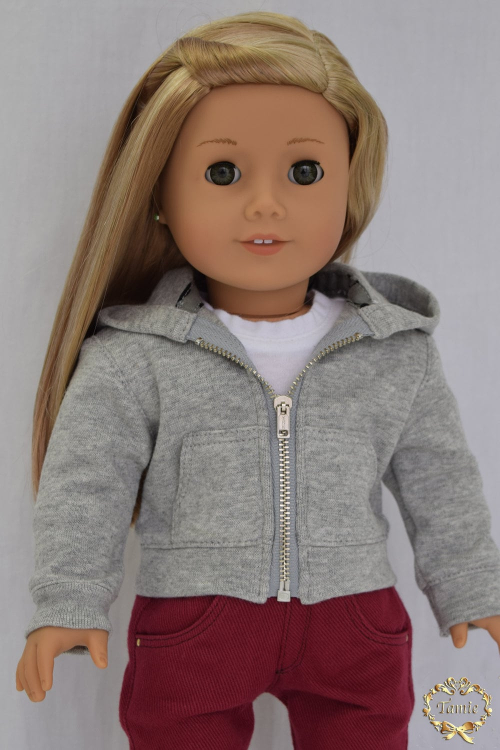 american girl doll clothes hoodie. Black Bedroom Furniture Sets. Home Design Ideas
