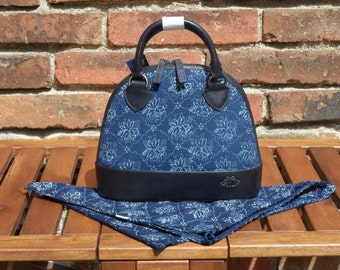 Dilians noble HANDPRINTED leather handbag JITKA2 P020601