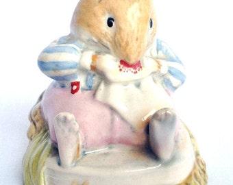 Royal Doulton Brambly Hedge Mr Toadflax figurine DBH10 - no cushion