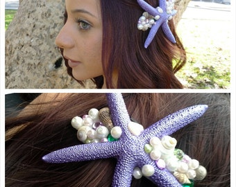 The Little Mermaid Starfish Hair Clip