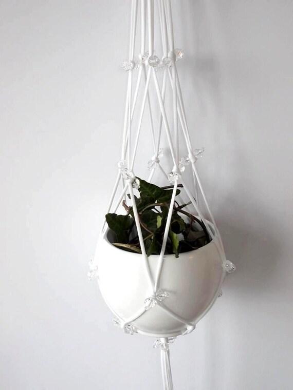 Macrame plant hanger-indoor plant holder-Hanging Planter-Hanging ...