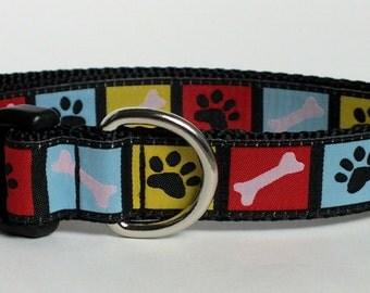 Bones & Paws Dog Collar