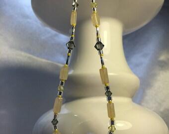 Cream Quartz Necklace