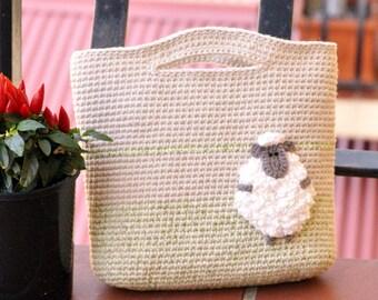 Bag for little princess PDF crochet pattern girl bag pattern
