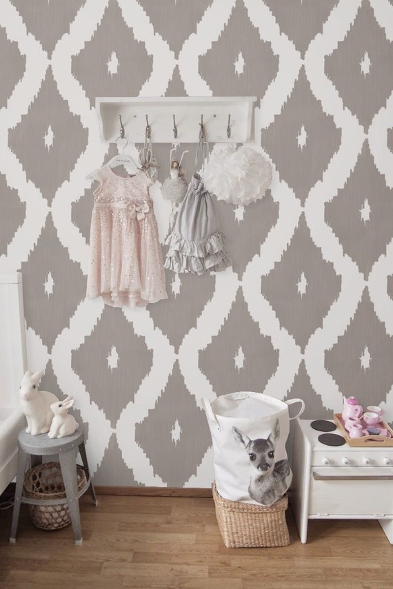 Removable self adhesive vinyl wallpaper wall decal by betapet for Temporary vinyl wallpaper