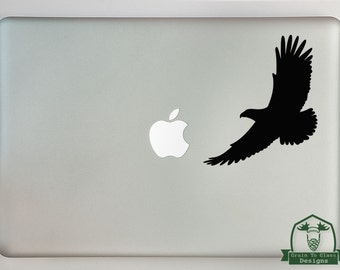 Soaring Eagle Macbook Laptop Decal