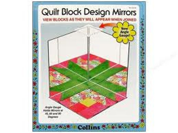 Quilt Block Design Mirrors by Collins