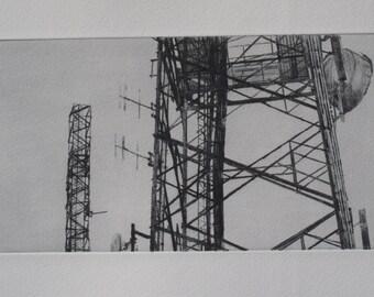 Communications masts