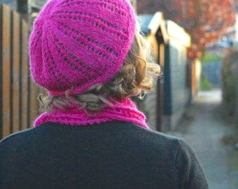 KNITTING PATTERN - Zoel Hat - instant pdf download