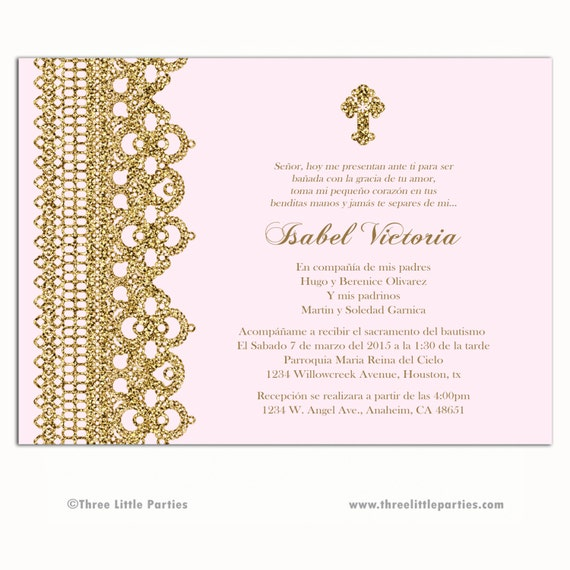 Quinceanera Invitations Spanish is adorable invitation design